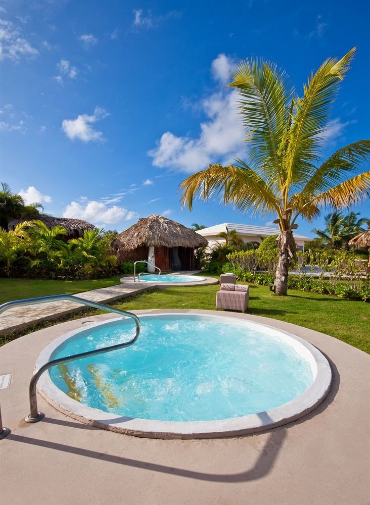 sky tree swimming pool property Pool Villa Resort caribbean Lagoon backyard swimming