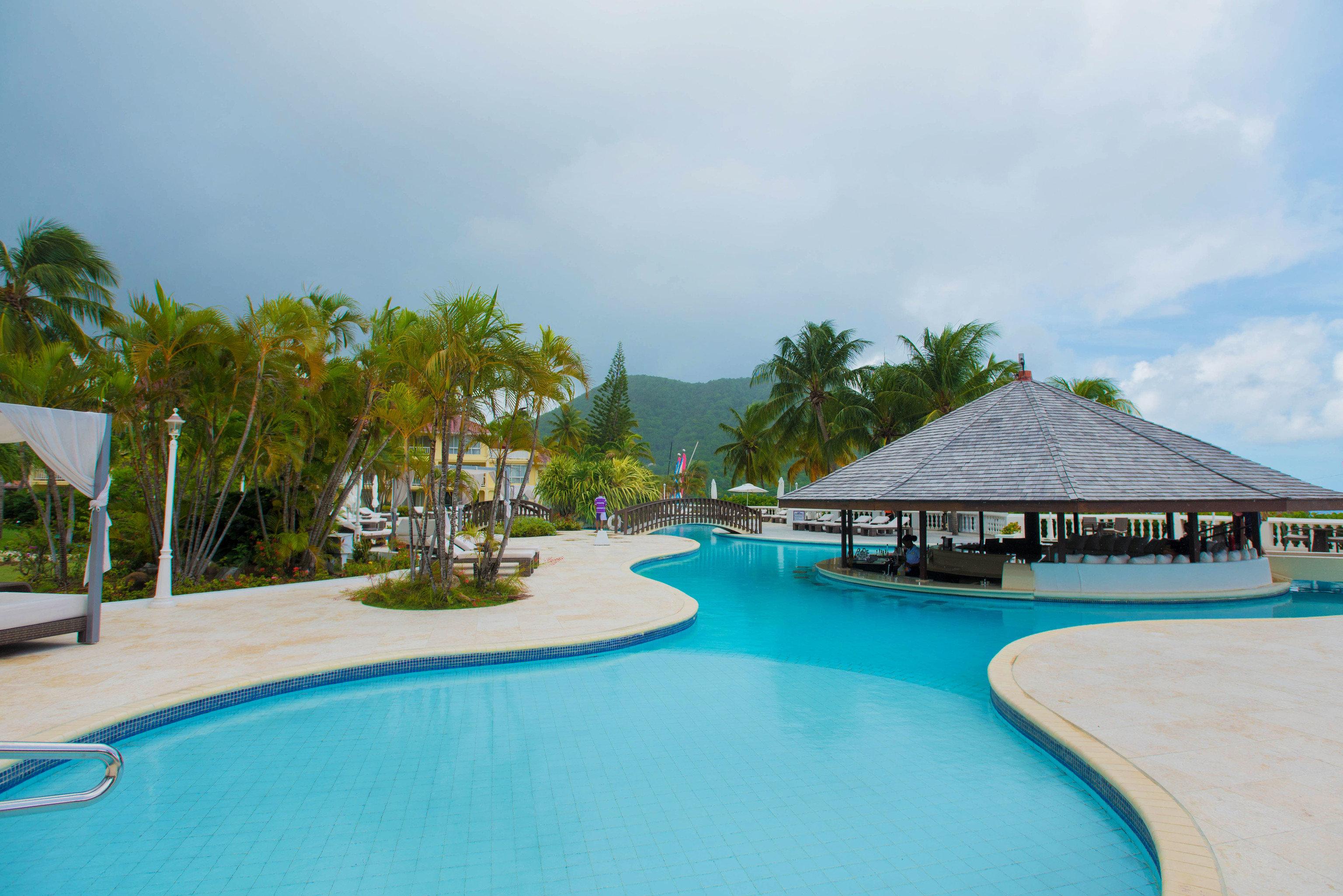 sky water swimming pool property leisure Resort Pool caribbean resort town Lagoon Water park Villa swimming empty