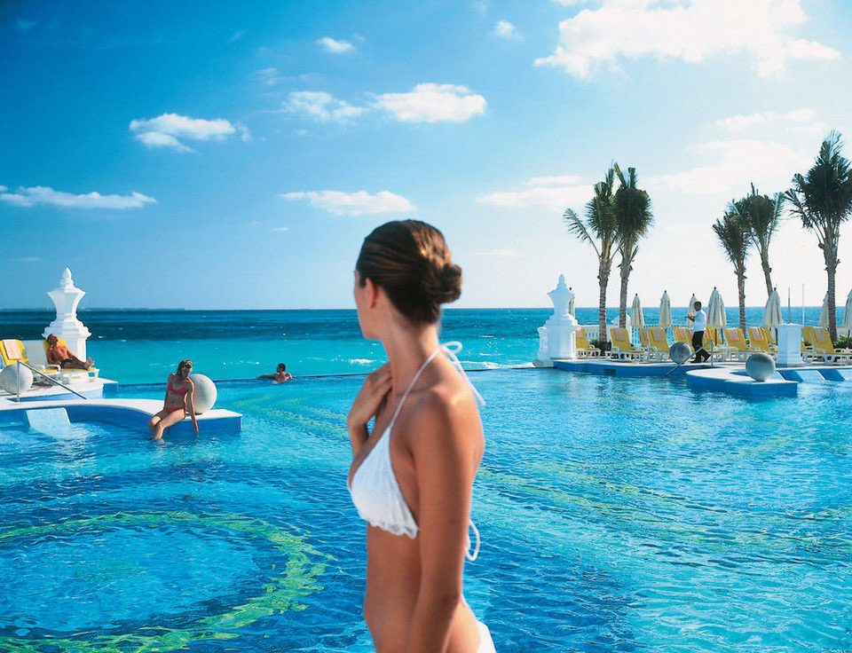 sky water leisure swimming pool caribbean Sea Lagoon Resort blue swimming