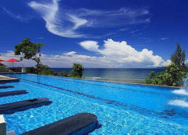 sky water swimming pool leisure Resort caribbean Sea Lagoon day