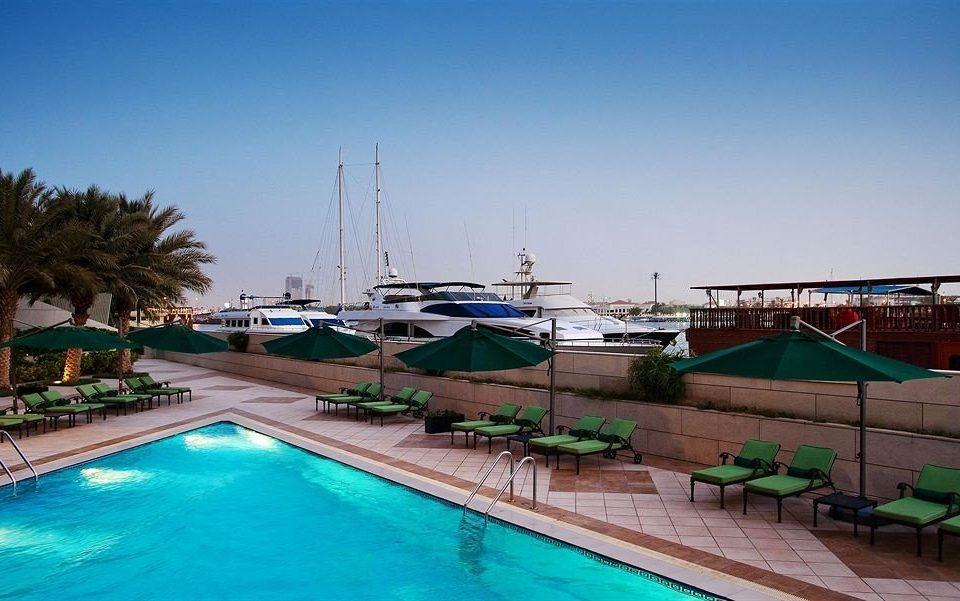 sky water marina dock Resort swimming pool Sea vehicle Lagoon