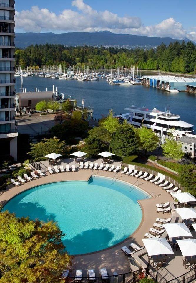 sky swimming pool leisure property Resort marina resort town Lagoon dock condominium Sea mansion Villa