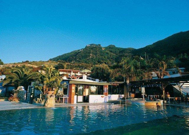 water leisure Resort mountain swimming pool resort town Sea Lagoon Village blue caribbean swimming