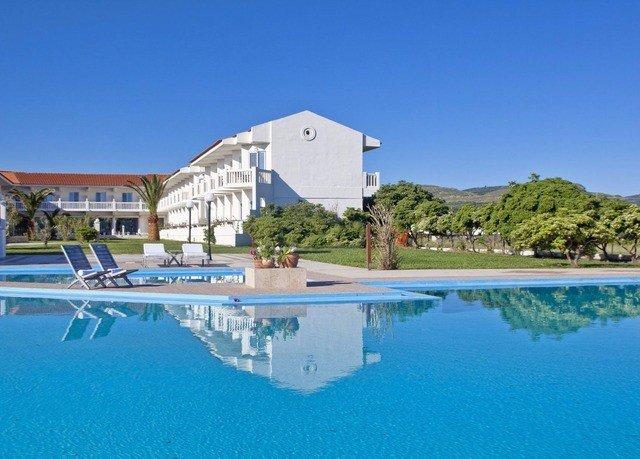 sky swimming pool property Resort marina blue Villa Lagoon dock shore