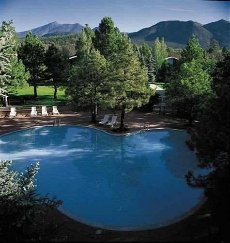 tree sky mountain swimming pool Nature Lake pond surrounded