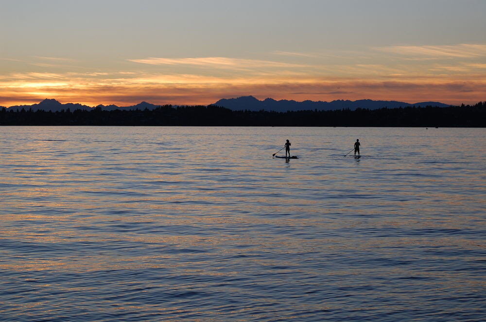 water sky Sunset Lake shore horizon Sea River Nature dawn morning sunrise evening dusk loch vehicle boating reservoir distance