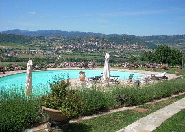 mountain grass sky water River property swimming pool Lake reflecting pool reservoir Villa Resort overlooking