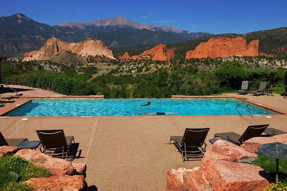 mountain property swimming pool landscape Villa Resort Sea Lake set day