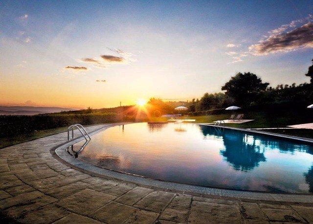 sky water swimming pool morning sunlight Sunset dusk evening sunrise Sun dawn Lake reservoir shore clouds