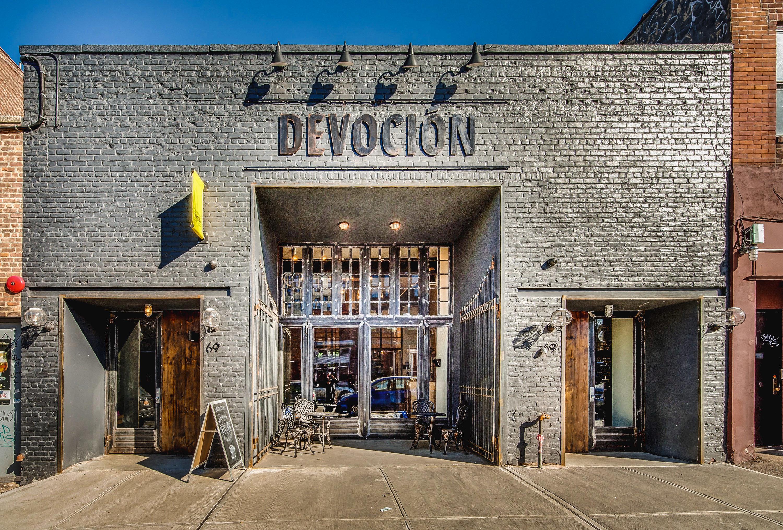 Brooklyn Food + Drink NYC building outdoor facade brick City stone window