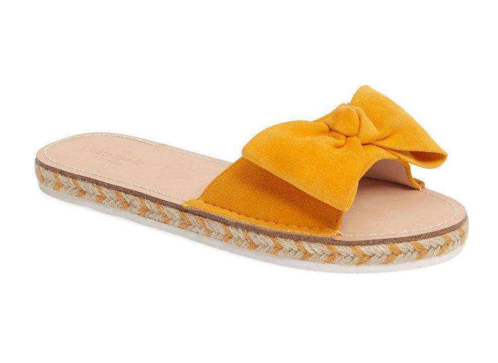 Style + Design footwear shoe yellow product sandal leather leg slipper outdoor shoe