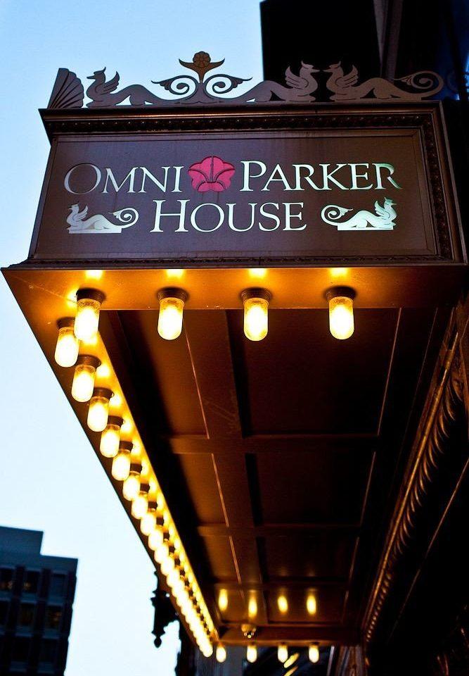sky light night lighting shape restaurant signage sign