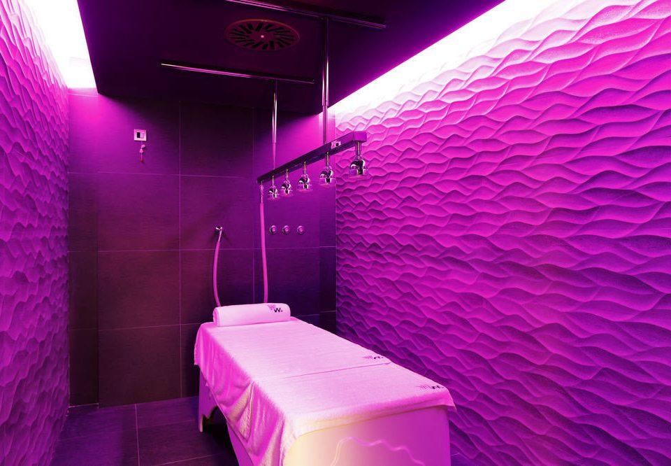 purple lighting nightclub swimming pool light
