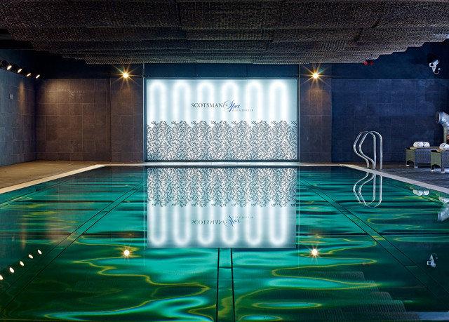 swimming pool light stage nightclub