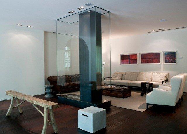 property lighting living room loft