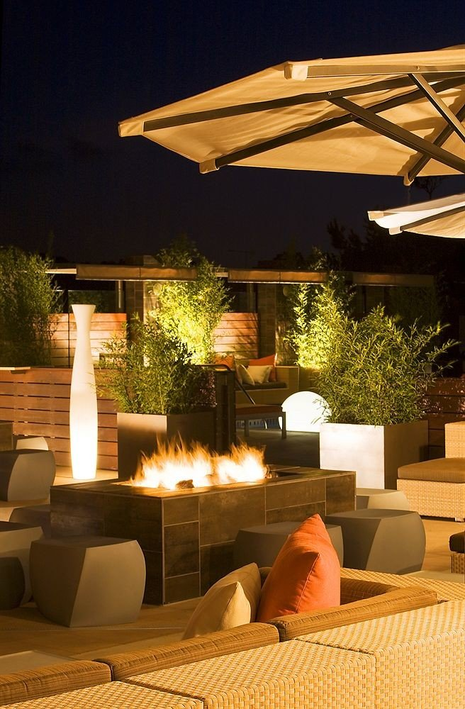 restaurant lighting outdoor structure living room