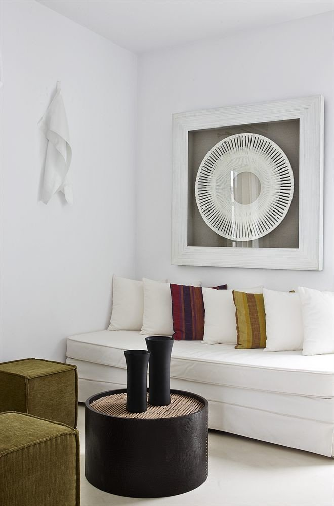 white living room lighting shelf