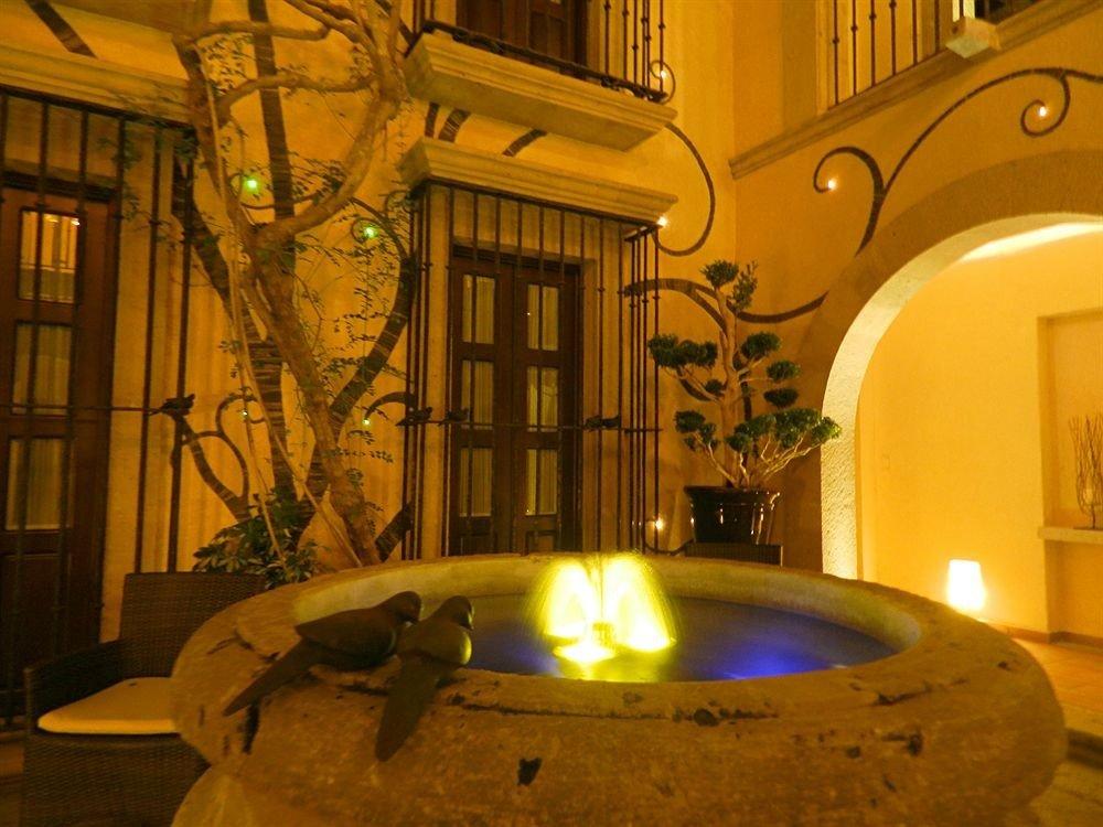 lighting mansion swimming pool