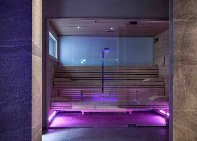 swimming pool lighting purple