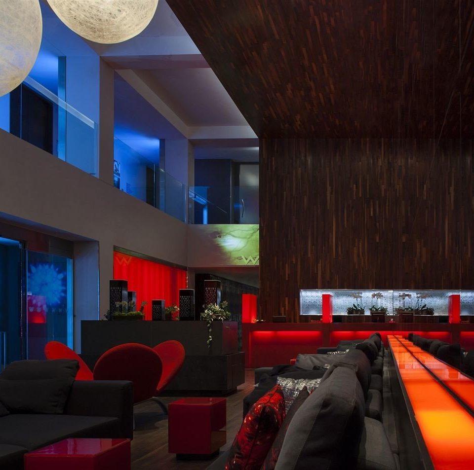 red screenshot recreation room lighting theatre