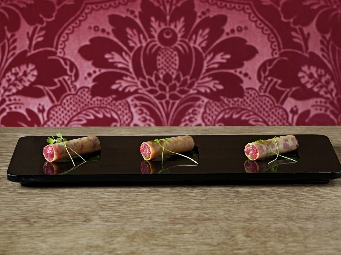 Food + Drink indoor pink Design pattern wallpaper
