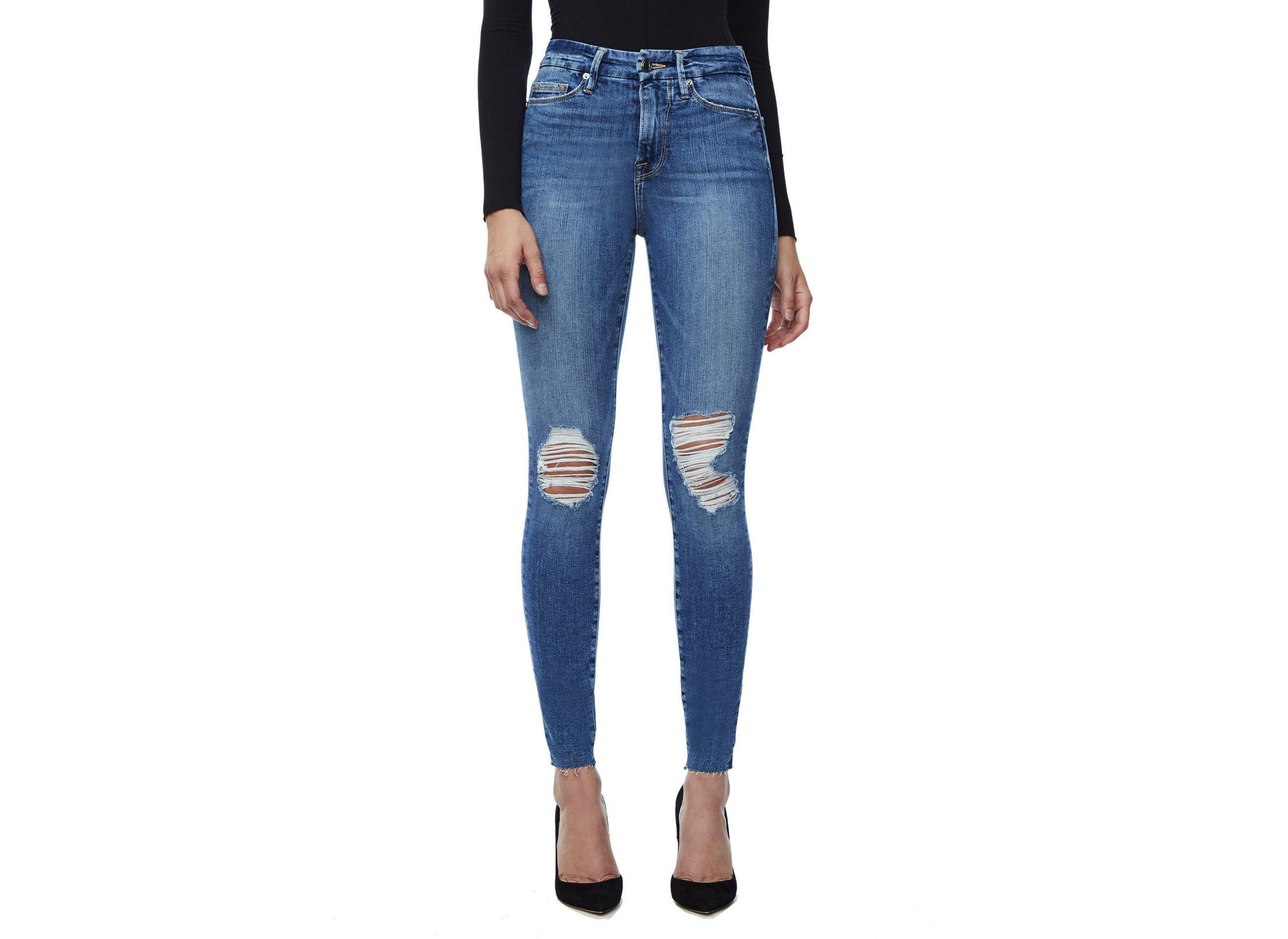 Celebs Style + Design Travel Shop clothing denim jeans person trouser waist trousers leggings electric blue joint tights