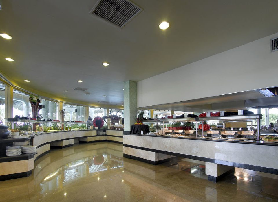 building shopping mall counter restaurant retail food court lighting airport terminal Lobby cafeteria airport