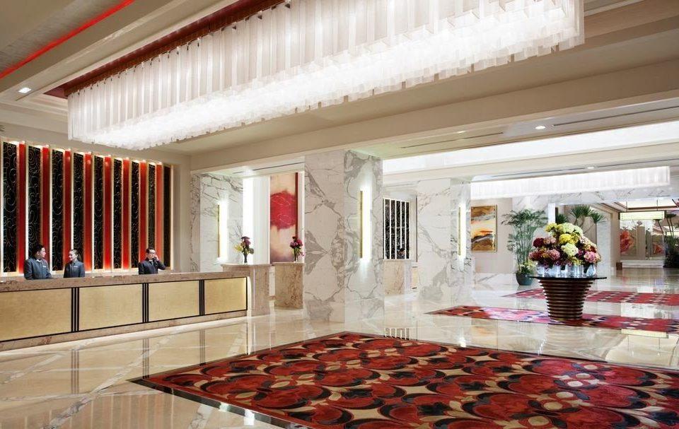 Lobby property building function hall aisle palace mansion restaurant flooring ballroom hall