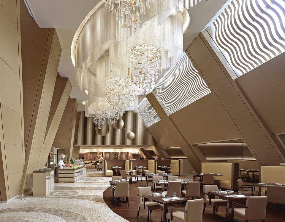 function hall restaurant lighting Lobby aisle ballroom