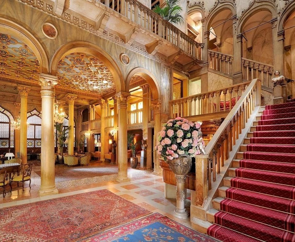 building Lobby palace aisle place of worship mansion synagogue