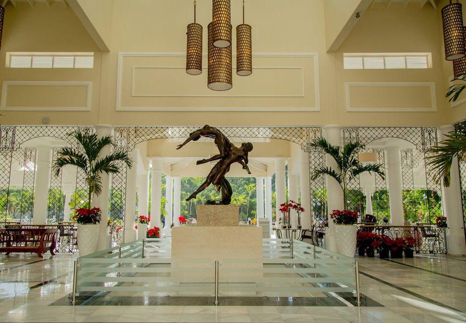 Lobby aisle hall plant
