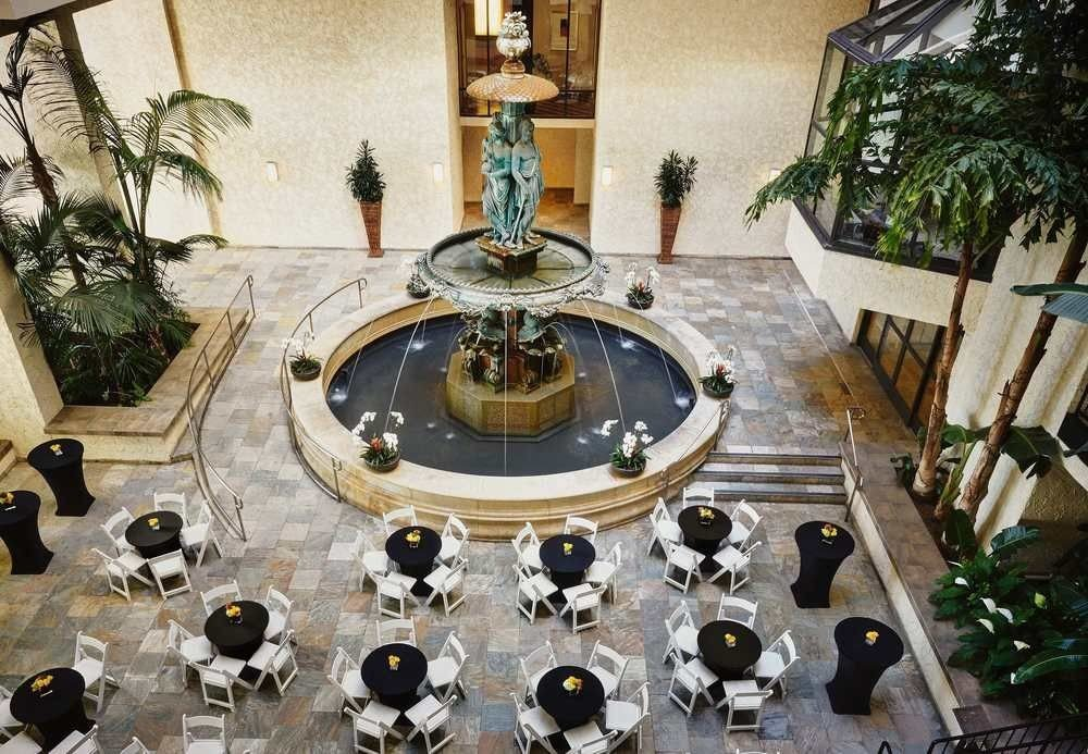 Lobby water feature mansion altar flooring