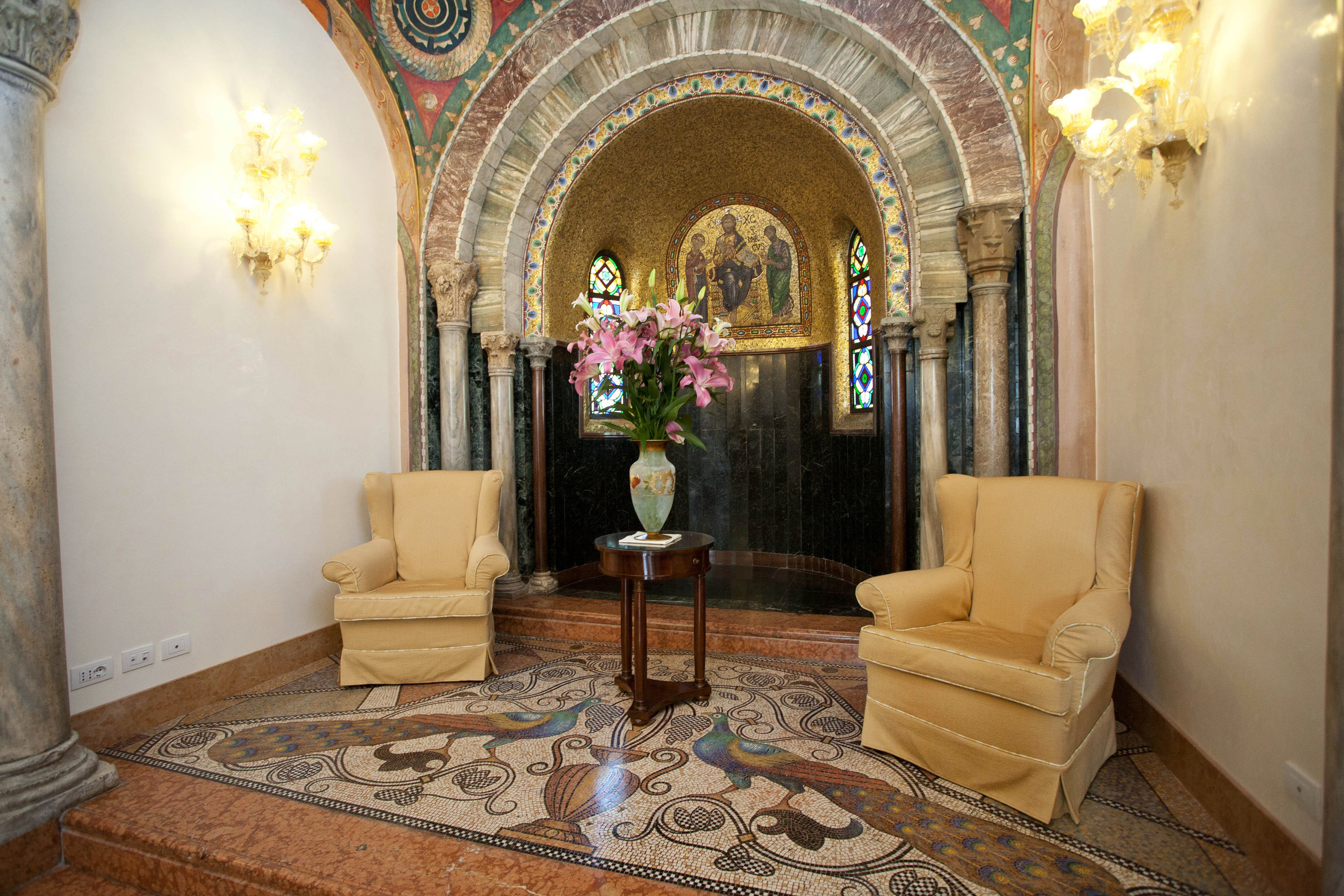 property building mansion Lobby living room home chapel palace arch stone fancy