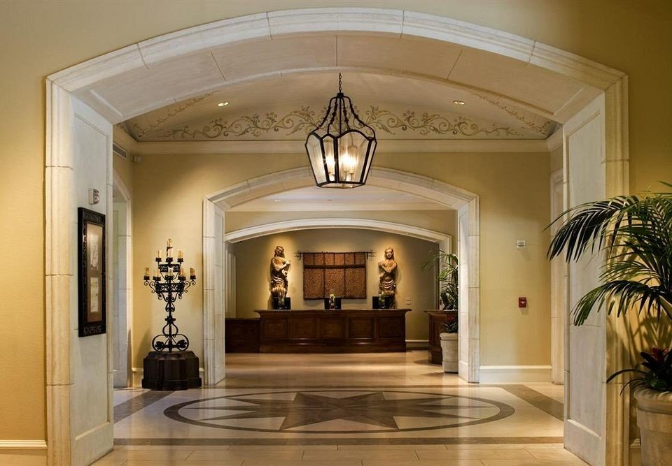 property Lobby mansion home lighting hall plant living room arch tourist attraction fancy