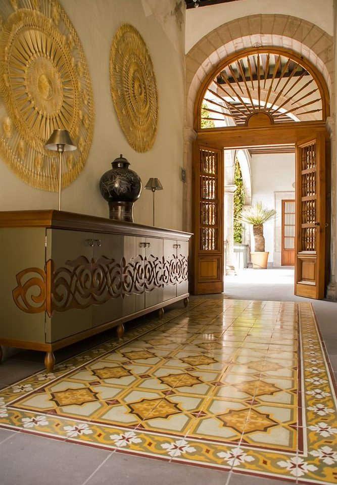 Lobby flooring living room hall arch mansion palace tourist attraction
