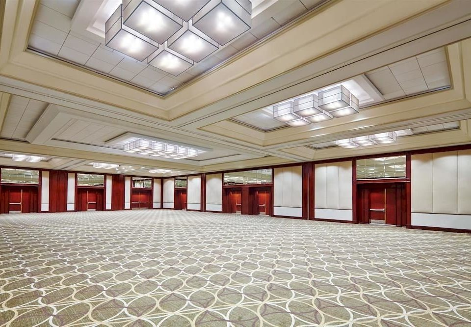 auditorium property Lobby convention center function hall ballroom conference hall hall flooring arena theatre