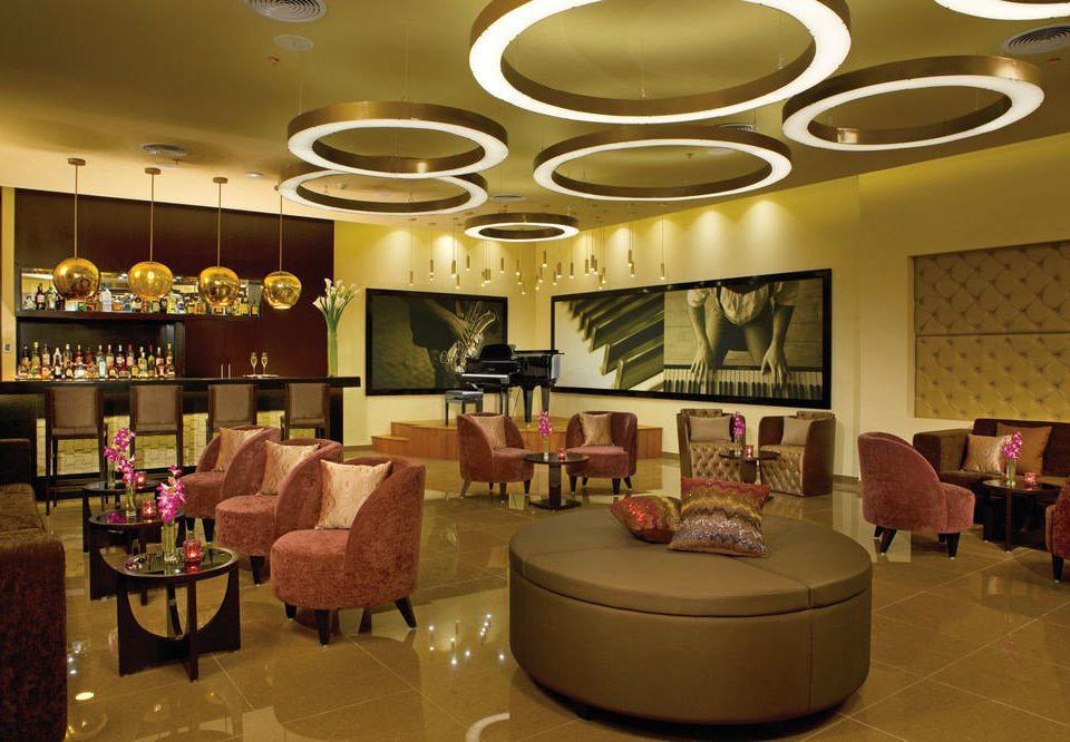 Lobby function hall living room restaurant arranged