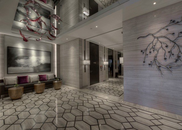 property Lobby art flooring screenshot tiled