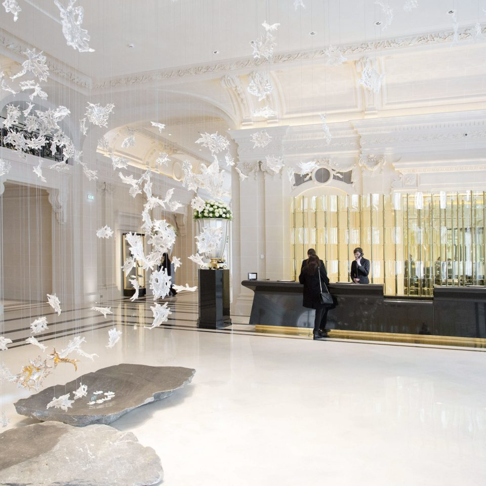 Lobby property building tourist attraction art gallery mansion ballroom