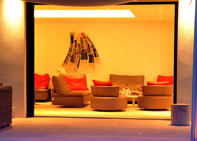 color modern art exhibition Lobby stage tourist attraction display window art gallery living room
