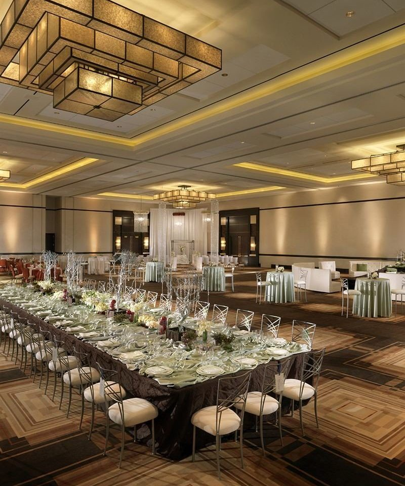function hall ballroom restaurant conference hall convention center banquet Lobby auditorium long line