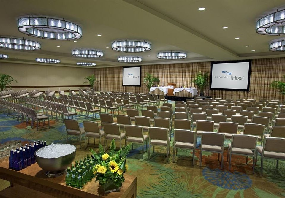 chair function hall auditorium conference hall convention center banquet Lobby ballroom convention