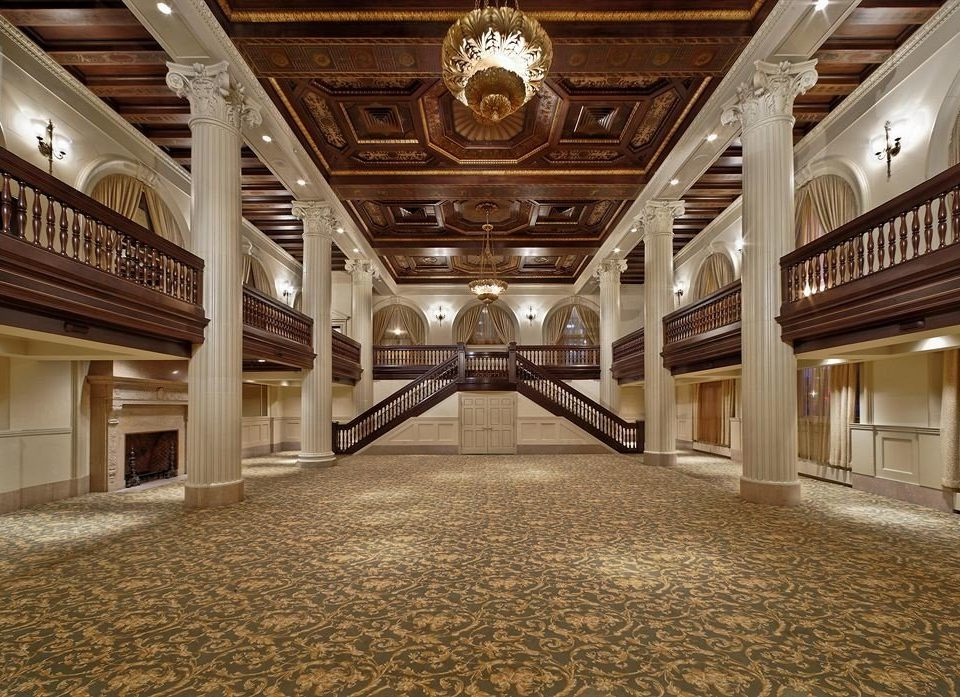 Lobby building auditorium hall ballroom flooring mansion theatre convention center tourist attraction