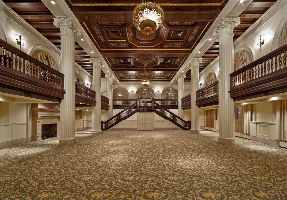 Lobby building auditorium hall ballroom flooring mansion theatre convention center tourist attraction