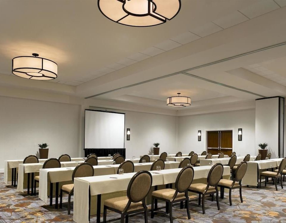chair conference hall function hall auditorium lighting convention center restaurant Lobby classroom ballroom waiting room cafeteria conference room