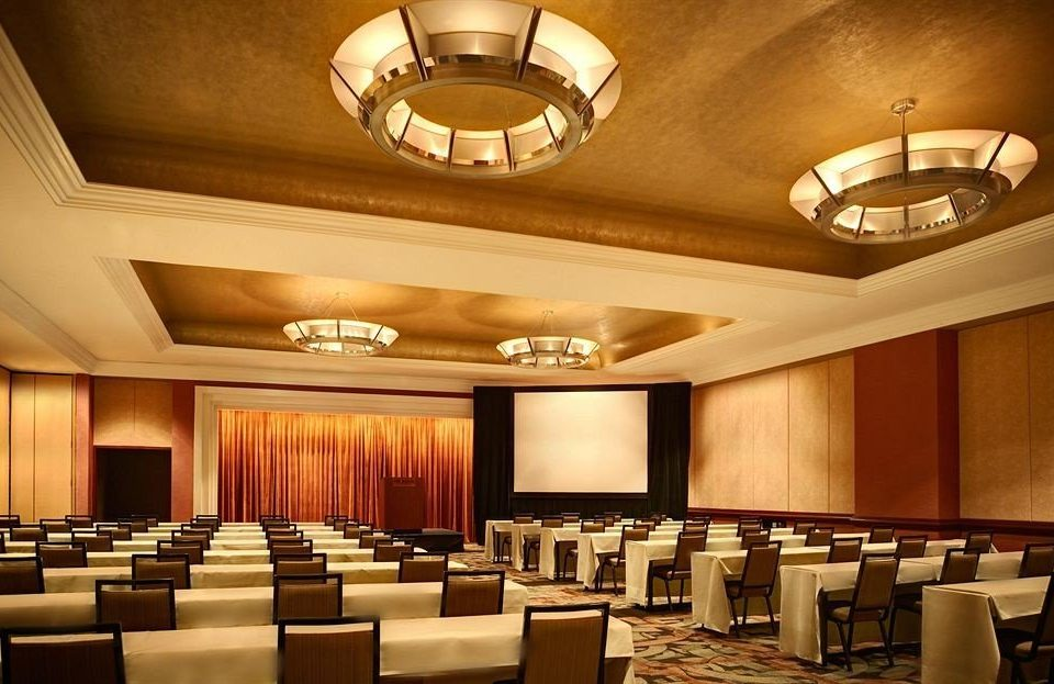 auditorium function hall conference hall lighting convention center ballroom Lobby restaurant clean fancy lined