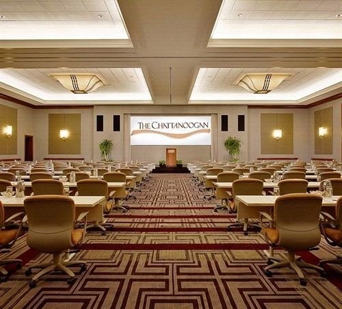 auditorium conference hall function hall Lobby convention center ballroom meeting set