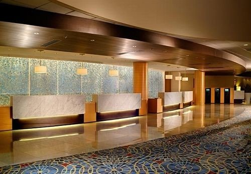 Lobby auditorium function hall convention center ballroom conference hall flooring stainless steel