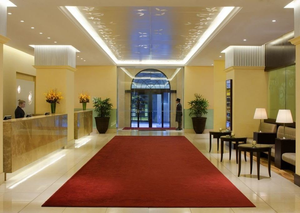 Lobby conference hall function hall convention center hall auditorium ballroom flooring long receptionist