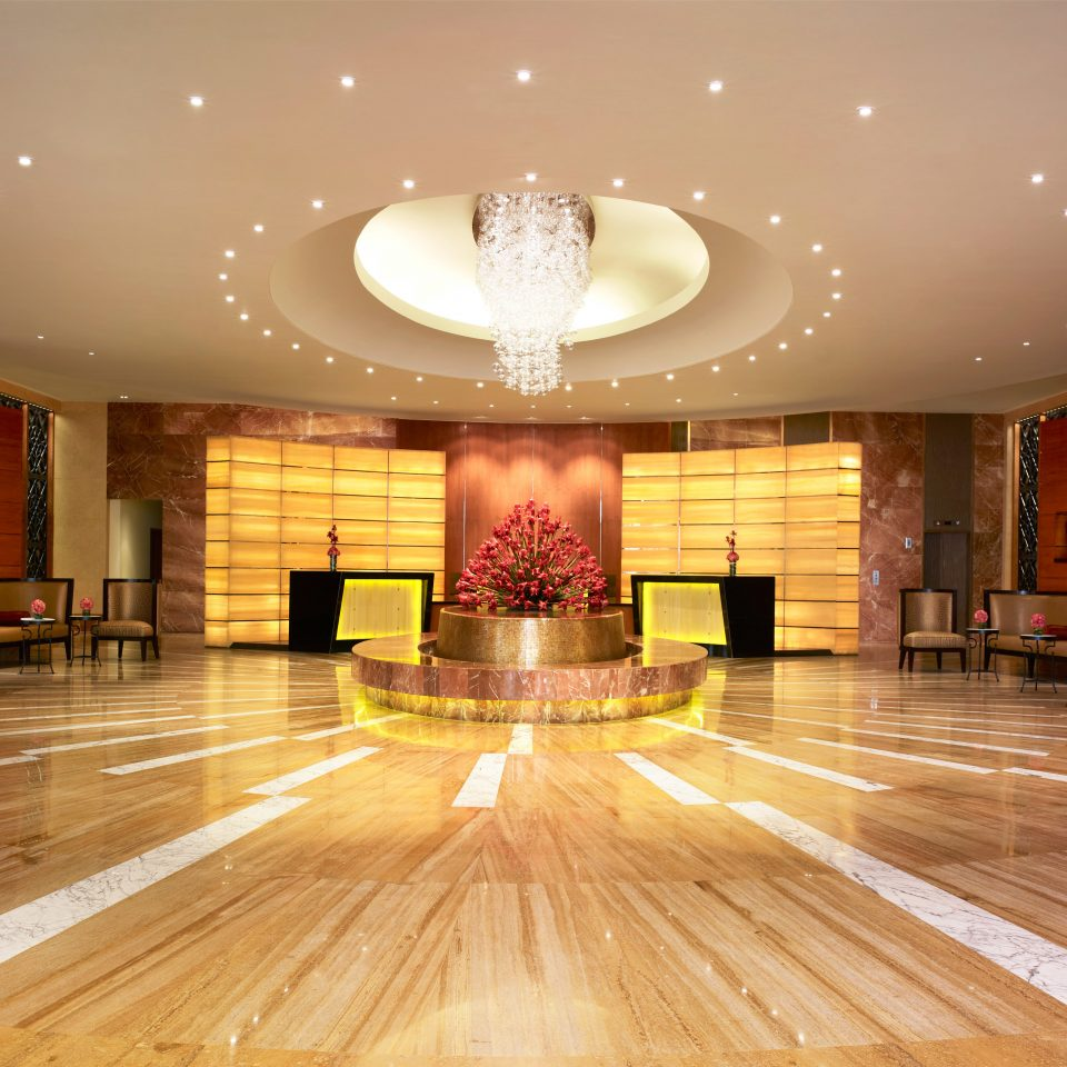 Lobby function hall auditorium flooring ballroom wood flooring conference hall convention center hall